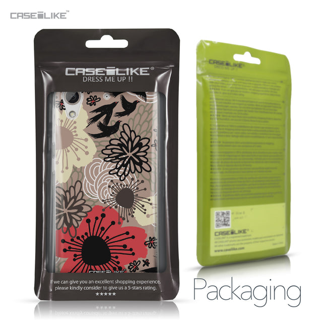 HTC Desire 626 case Japanese Floral 2254 Retail Packaging | CASEiLIKE.com