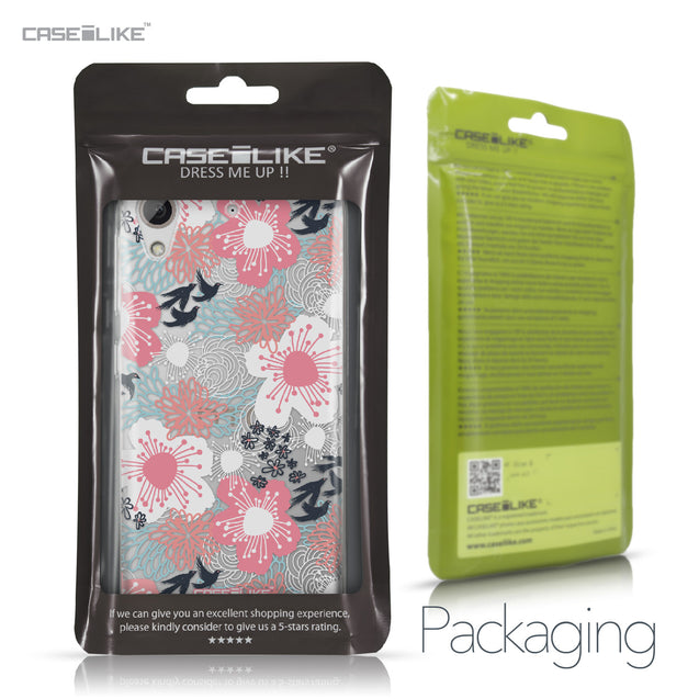 HTC Desire 626 case Japanese Floral 2255 Retail Packaging | CASEiLIKE.com