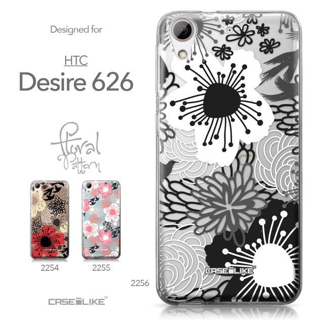 HTC Desire 626 case Japanese Floral 2256 Collection | CASEiLIKE.com