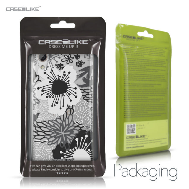 HTC Desire 626 case Japanese Floral 2256 Retail Packaging | CASEiLIKE.com