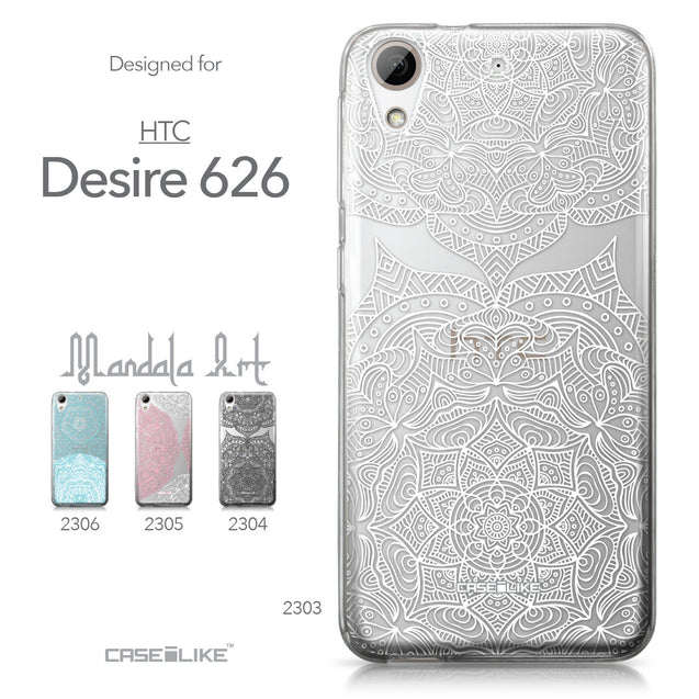 HTC Desire 626 case Mandala Art 2303 Collection | CASEiLIKE.com