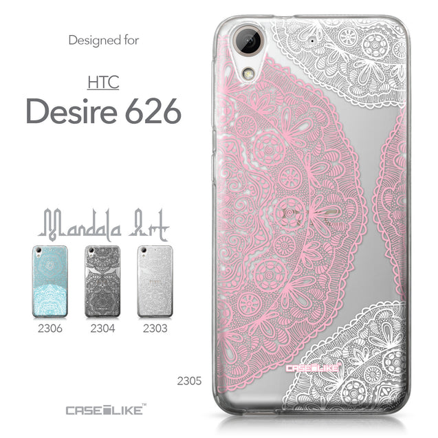 HTC Desire 626 case Mandala Art 2305 Collection | CASEiLIKE.com