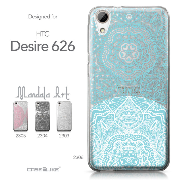 HTC Desire 626 case Mandala Art 2306 Collection | CASEiLIKE.com