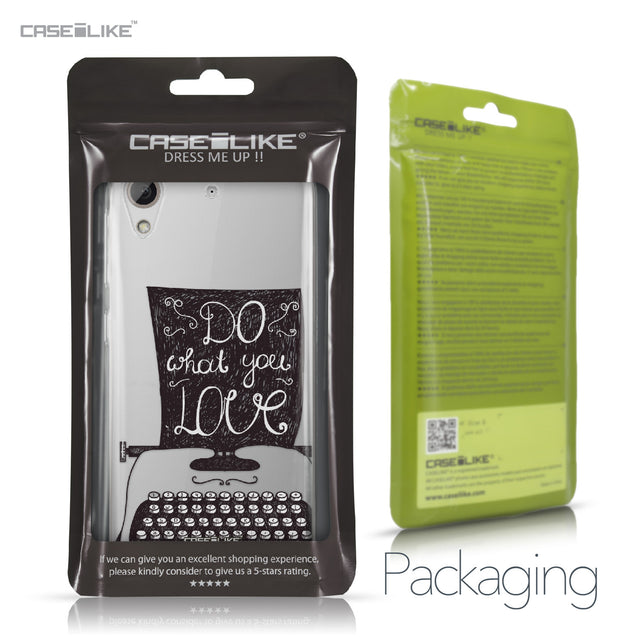 HTC Desire 626 case Quote 2400 Retail Packaging | CASEiLIKE.com