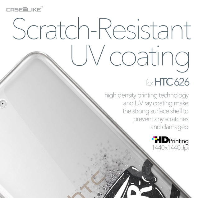 HTC Desire 626 case Quote 2402 with UV-Coating Scratch-Resistant Case | CASEiLIKE.com