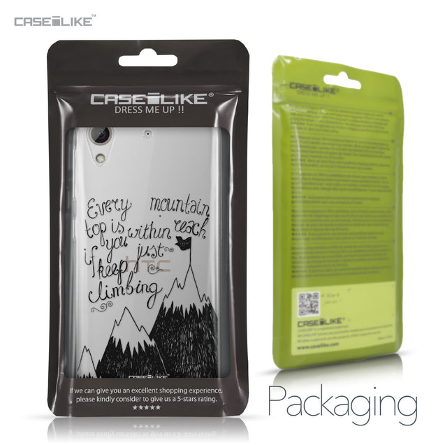 HTC Desire 626 case Quote 2403 Retail Packaging | CASEiLIKE.com