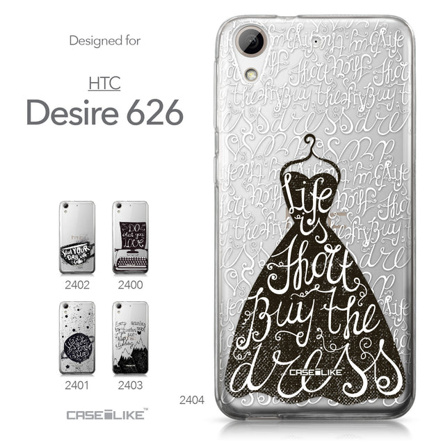 HTC Desire 626 case Quote 2404 Collection | CASEiLIKE.com