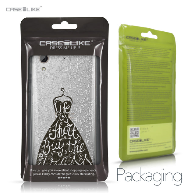 HTC Desire 626 case Quote 2404 Retail Packaging | CASEiLIKE.com