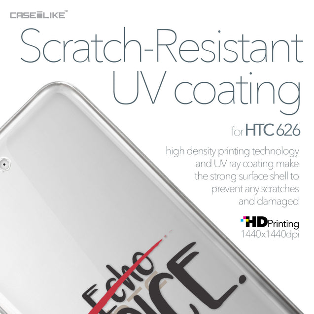 HTC Desire 626 case Quote 2405 with UV-Coating Scratch-Resistant Case | CASEiLIKE.com
