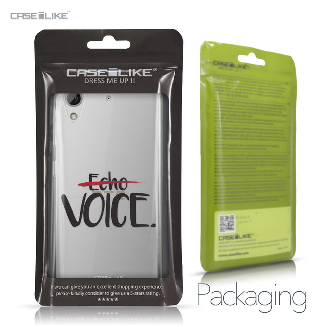 HTC Desire 626 case Quote 2405 Retail Packaging | CASEiLIKE.com