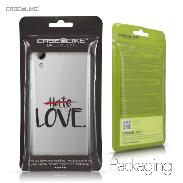 HTC Desire 626 case Quote 2406 Retail Packaging | CASEiLIKE.com