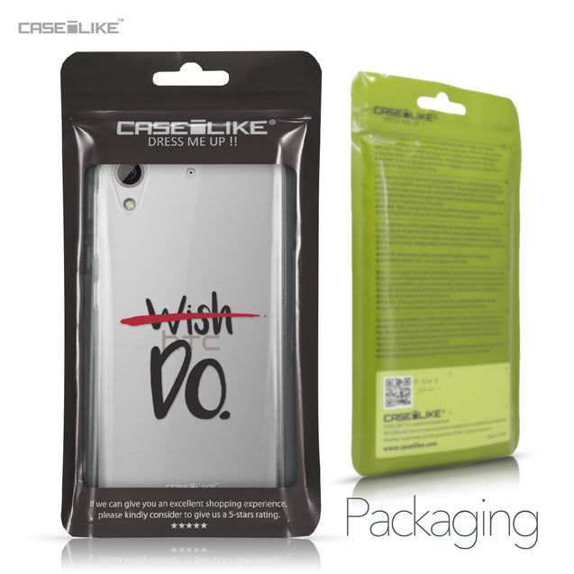 HTC Desire 626 case Quote 2407 Retail Packaging | CASEiLIKE.com