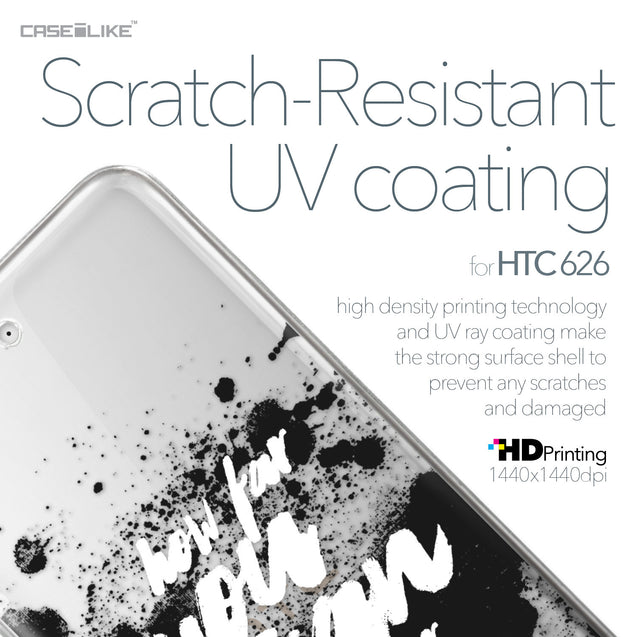 HTC Desire 626 case Quote 2413 with UV-Coating Scratch-Resistant Case | CASEiLIKE.com