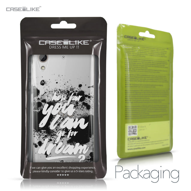 HTC Desire 626 case Quote 2413 Retail Packaging | CASEiLIKE.com