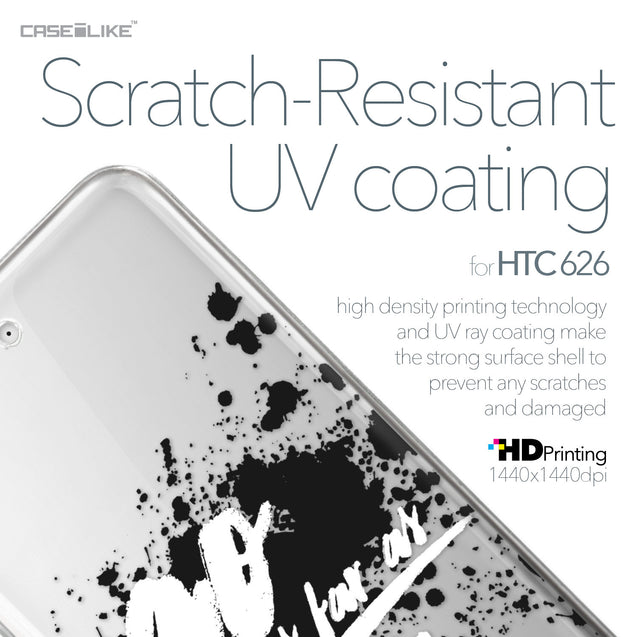 HTC Desire 626 case Quote 2415 with UV-Coating Scratch-Resistant Case | CASEiLIKE.com