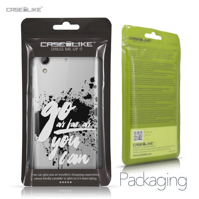 HTC Desire 626 case Quote 2415 Retail Packaging | CASEiLIKE.com