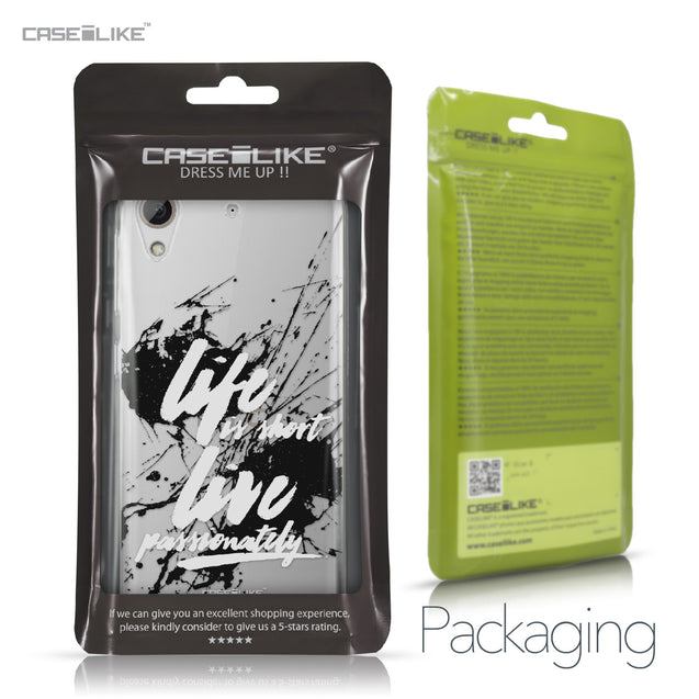 HTC Desire 626 case Quote 2416 Retail Packaging | CASEiLIKE.com
