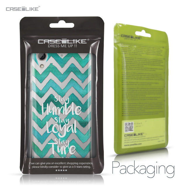 HTC Desire 626 case Quote 2418 Retail Packaging | CASEiLIKE.com