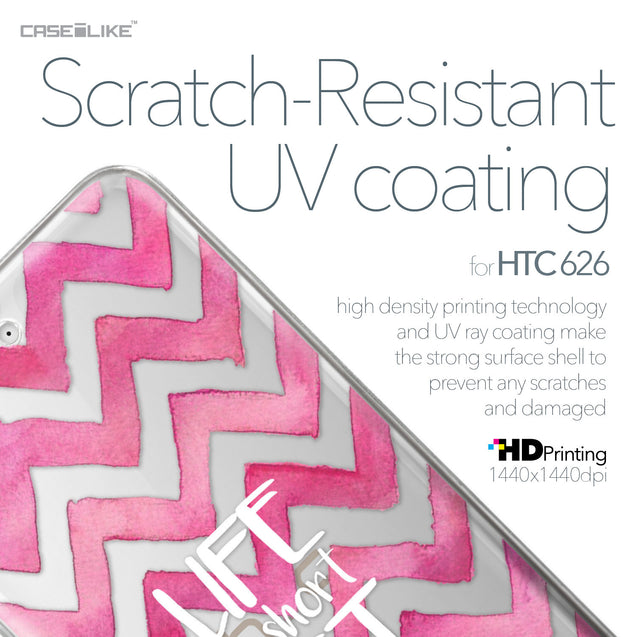 HTC Desire 626 case Quote 2419 with UV-Coating Scratch-Resistant Case | CASEiLIKE.com