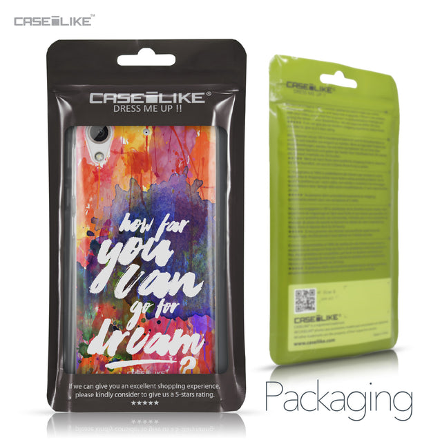 HTC Desire 626 case Quote 2421 Retail Packaging | CASEiLIKE.com