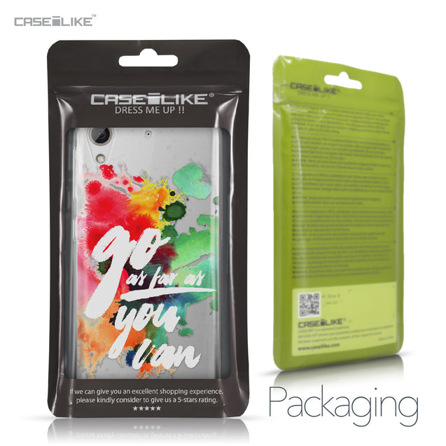 HTC Desire 626 case Quote 2424 Retail Packaging | CASEiLIKE.com