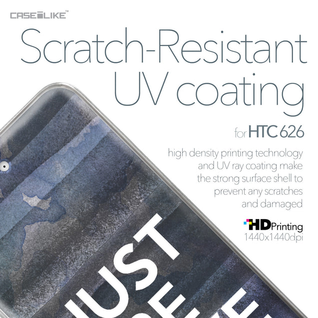HTC Desire 626 case Quote 2430 with UV-Coating Scratch-Resistant Case | CASEiLIKE.com