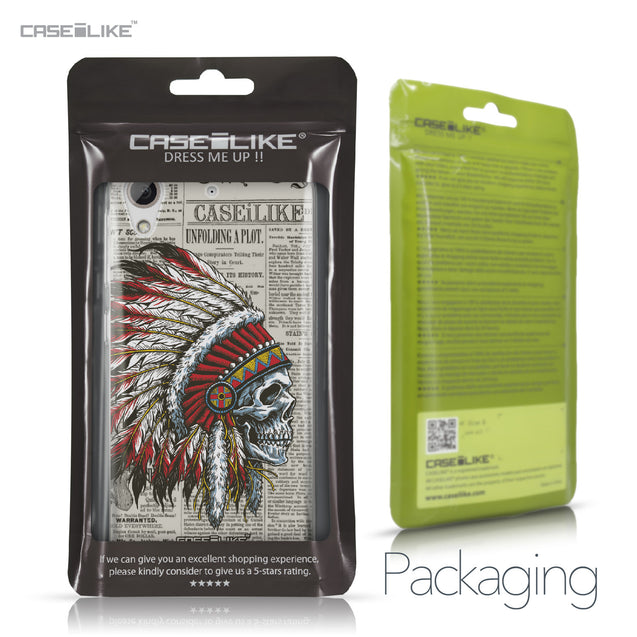 HTC Desire 626 case Art of Skull 2522 Retail Packaging | CASEiLIKE.com