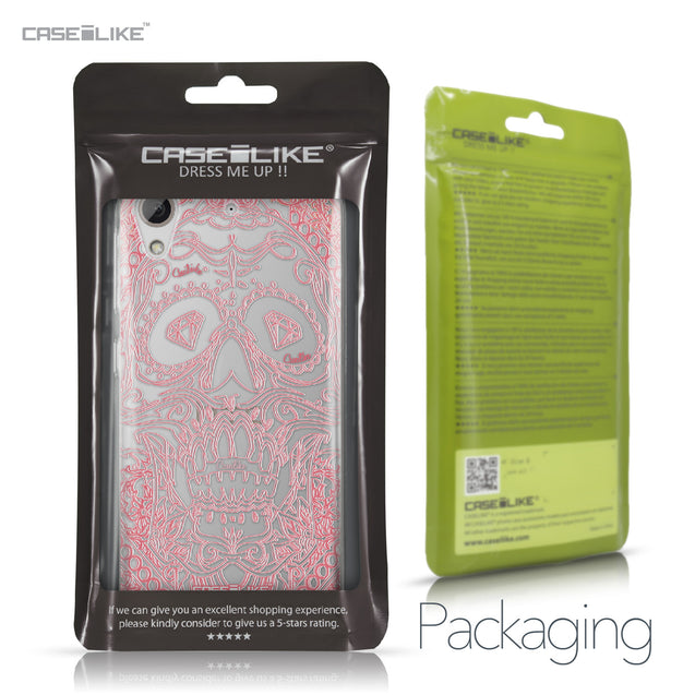HTC Desire 626 case Art of Skull 2525 Retail Packaging | CASEiLIKE.com