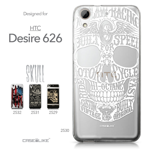 HTC Desire 626 case Art of Skull 2530 Collection | CASEiLIKE.com