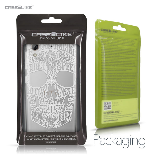 HTC Desire 626 case Art of Skull 2530 Retail Packaging | CASEiLIKE.com
