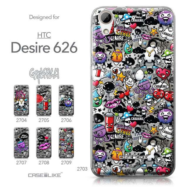 HTC Desire 626 case Graffiti 2703 Collection | CASEiLIKE.com