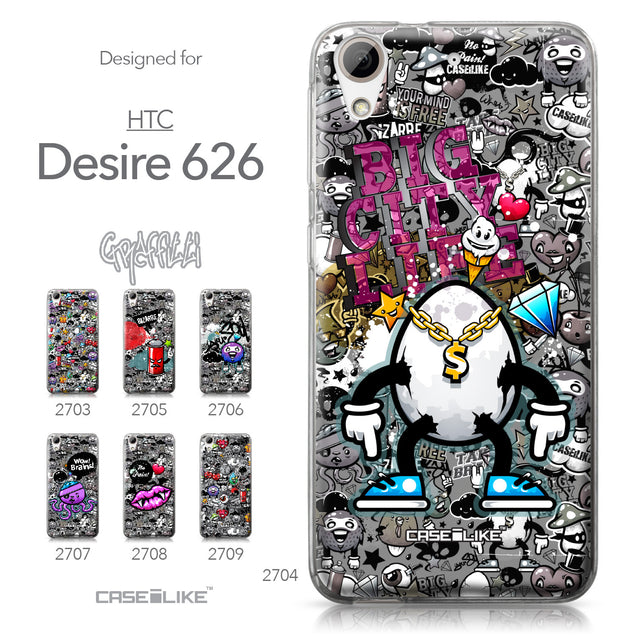 HTC Desire 626 case Graffiti 2704 Collection | CASEiLIKE.com