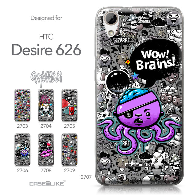 HTC Desire 626 case Graffiti 2707 Collection | CASEiLIKE.com