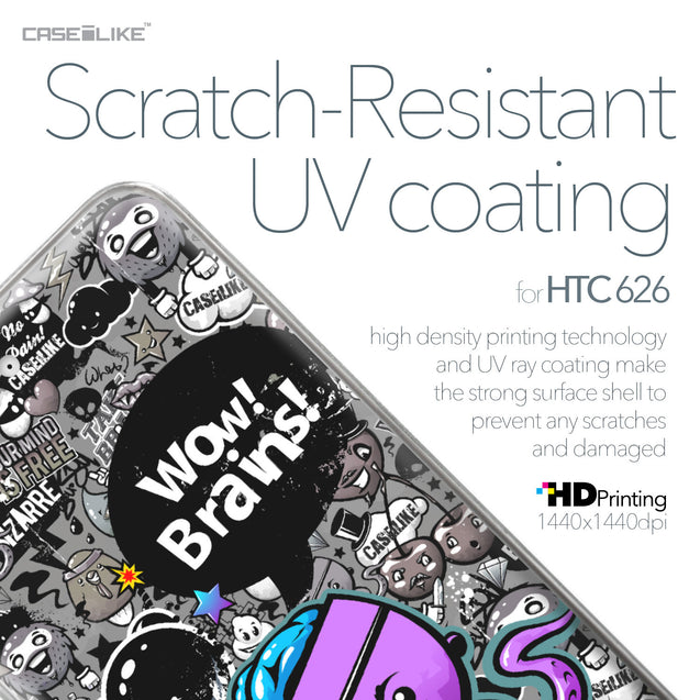 HTC Desire 626 case Graffiti 2707 with UV-Coating Scratch-Resistant Case | CASEiLIKE.com