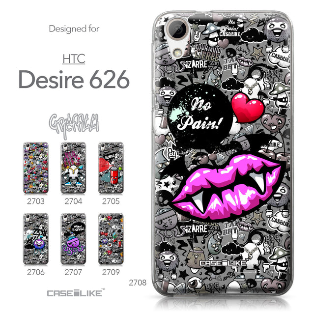 HTC Desire 626 case Graffiti 2708 Collection | CASEiLIKE.com