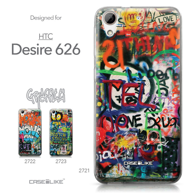 HTC Desire 626 case Graffiti 2721 Collection | CASEiLIKE.com