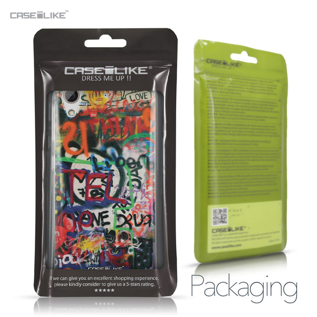 HTC Desire 626 case Graffiti 2721 Retail Packaging | CASEiLIKE.com