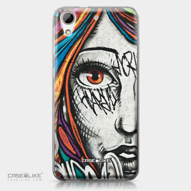 HTC Desire 626 case Graffiti Girl 2724 | CASEiLIKE.com