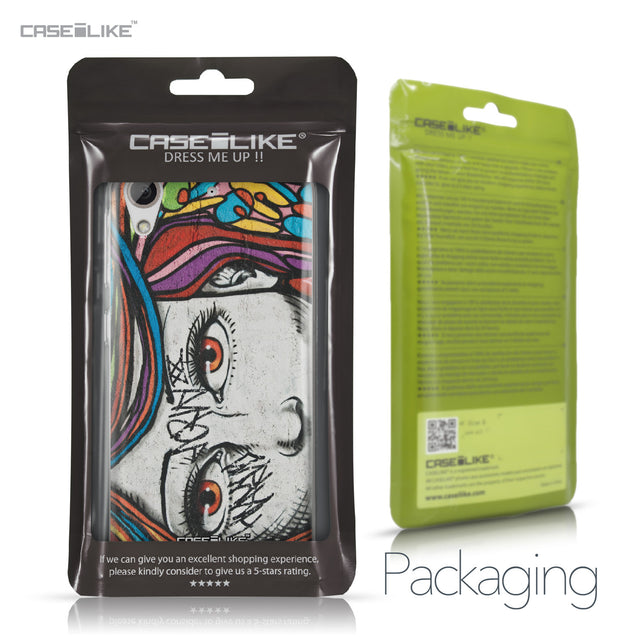 HTC Desire 626 case Graffiti Girl 2725 Retail Packaging | CASEiLIKE.com