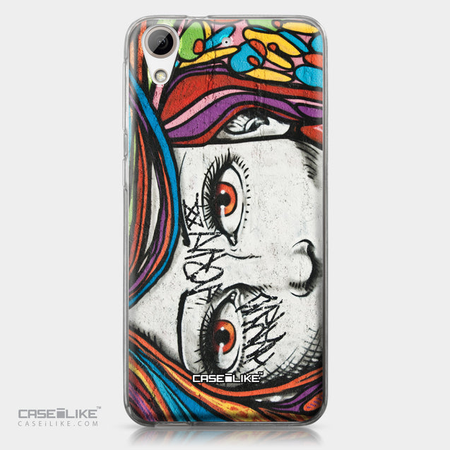 HTC Desire 626 case Graffiti Girl 2725 | CASEiLIKE.com