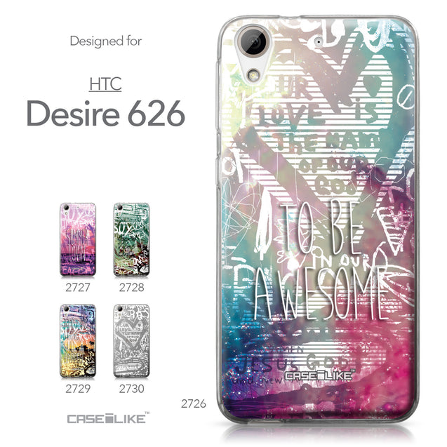 HTC Desire 626 case Graffiti 2726 Collection | CASEiLIKE.com