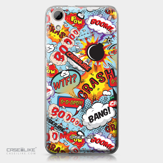 HTC Desire 626 case Comic Captions Blue 2913 | CASEiLIKE.com