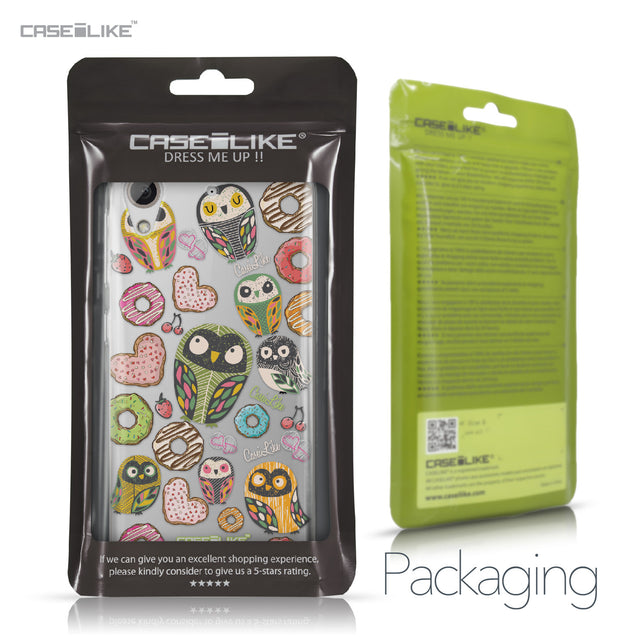 HTC Desire 626 case Owl Graphic Design 3315 Retail Packaging | CASEiLIKE.com
