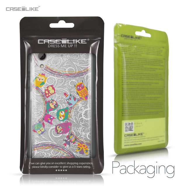 HTC Desire 626 case Owl Graphic Design 3316 Retail Packaging | CASEiLIKE.com