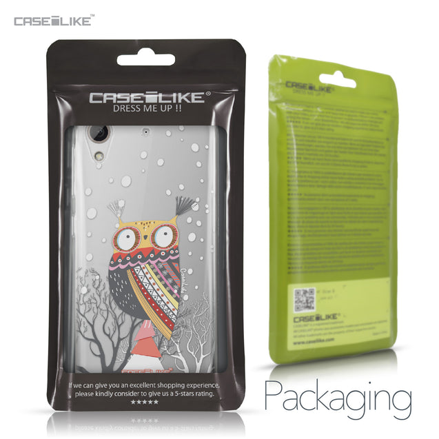 HTC Desire 626 case Owl Graphic Design 3317 Retail Packaging | CASEiLIKE.com