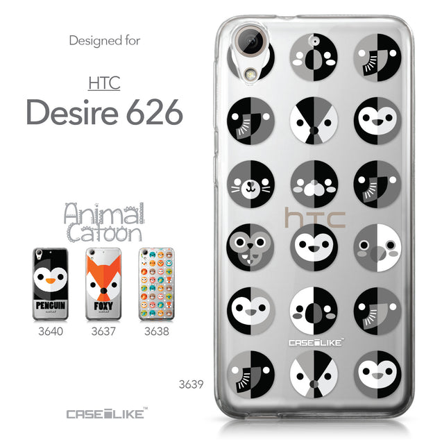 HTC Desire 626 case Animal Cartoon 3639 Collection | CASEiLIKE.com