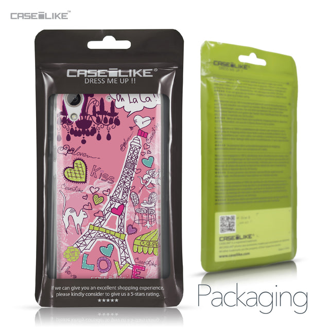 HTC Desire 626 case Paris Holiday 3905 Retail Packaging | CASEiLIKE.com