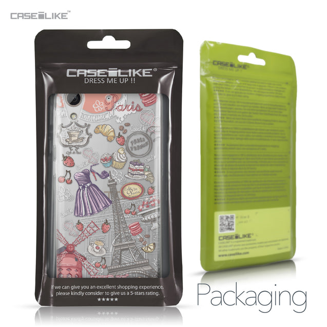 HTC Desire 626 case Paris Holiday 3907 Retail Packaging | CASEiLIKE.com