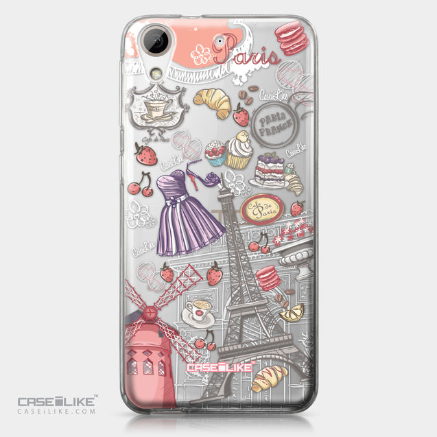 HTC Desire 626 case Paris Holiday 3907 | CASEiLIKE.com