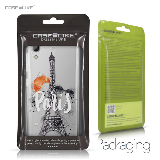 HTC Desire 626 case Paris Holiday 3908 Retail Packaging | CASEiLIKE.com